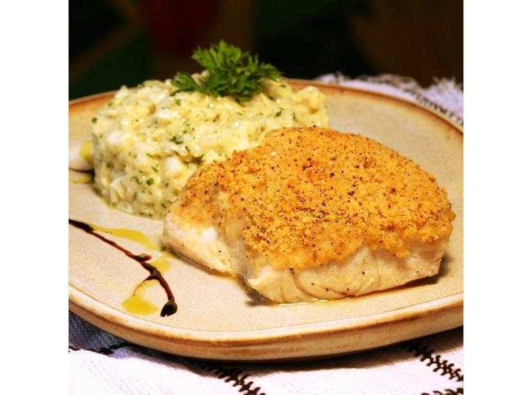 Cod main course