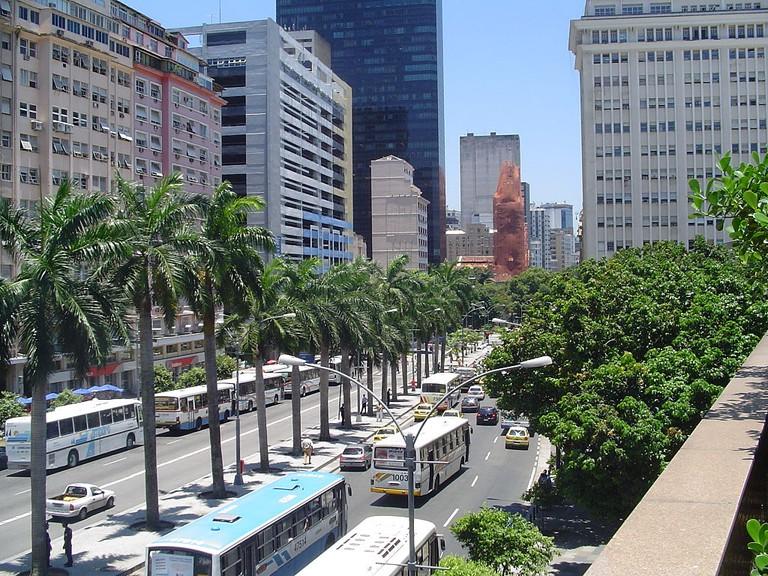 Centro in Rio de Janeiro |© anna carol/WikiCommons