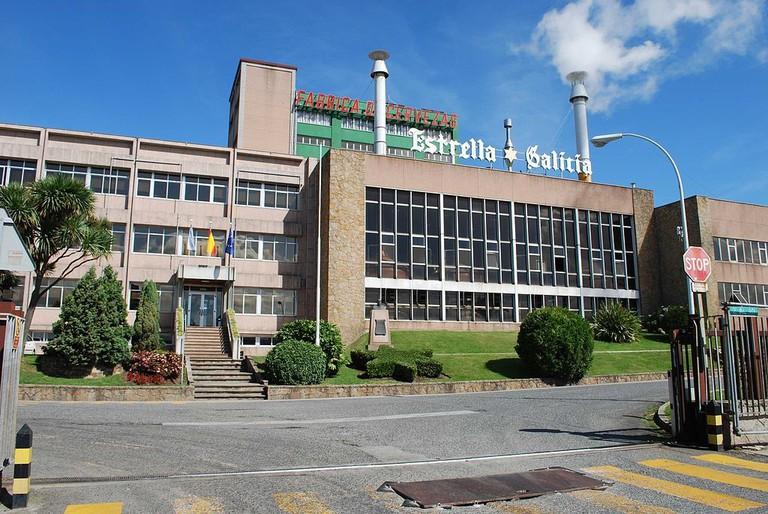Estrella Galicia brewery A Coruña   ©Nemigo / Wikimedia Commons