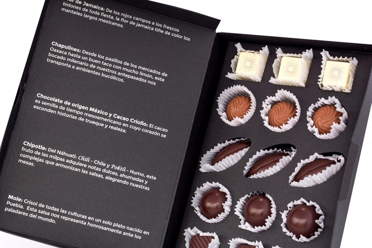 Beautifully presented chocolates | Courtesy of Le Caméléon