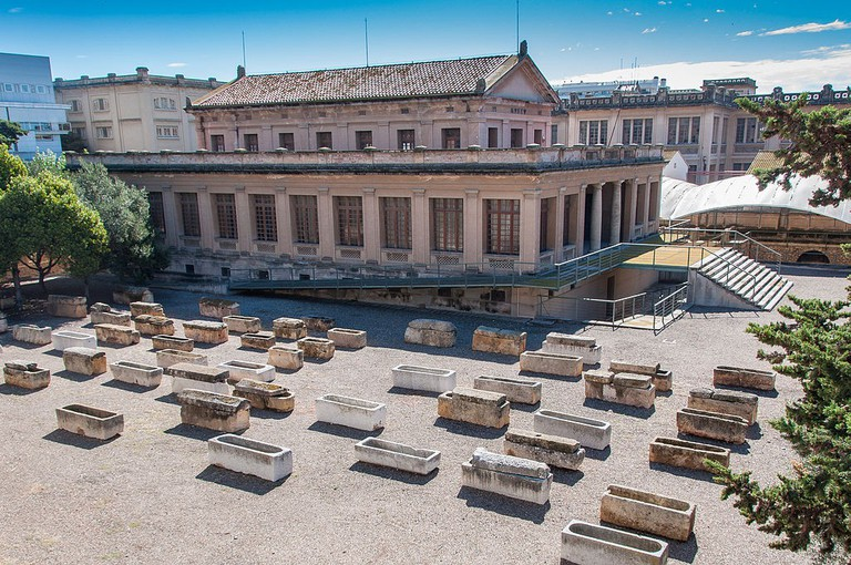 Museu i Necròpolis Paleocristians | ©Fernando Fernández Baliña / Wikimedia Commons
