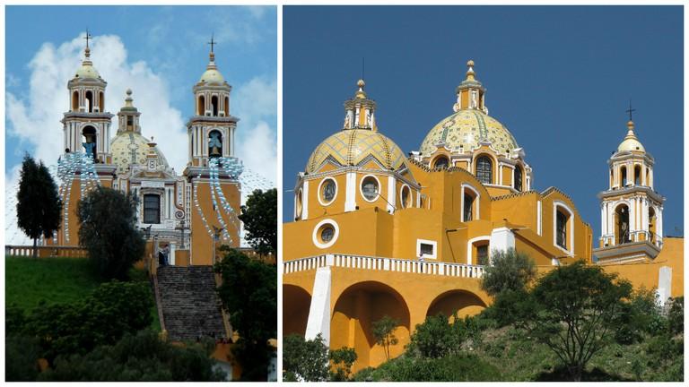 Iglesia de Los Remedios, Cholula