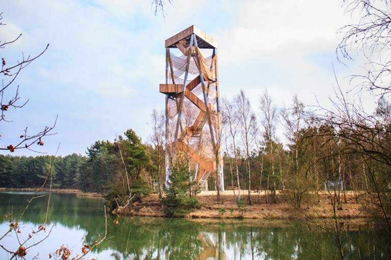 Lookout tower Lommel Sahara  © Stines/Wikimedia Commons