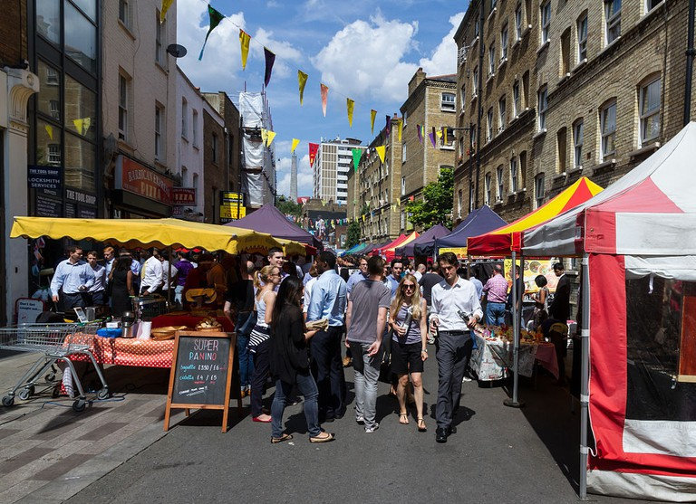 Whitecross Street Market, London