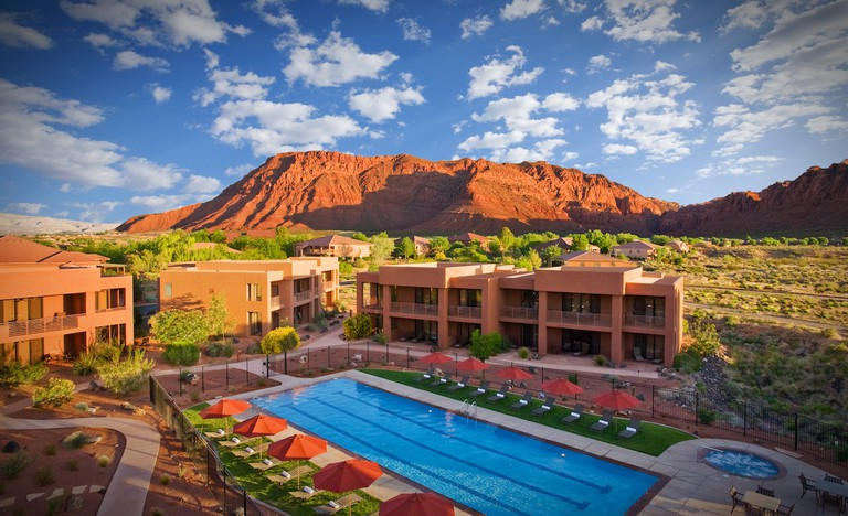 Red Mountain Spa Villas near Snow Canyon State Park in Utah