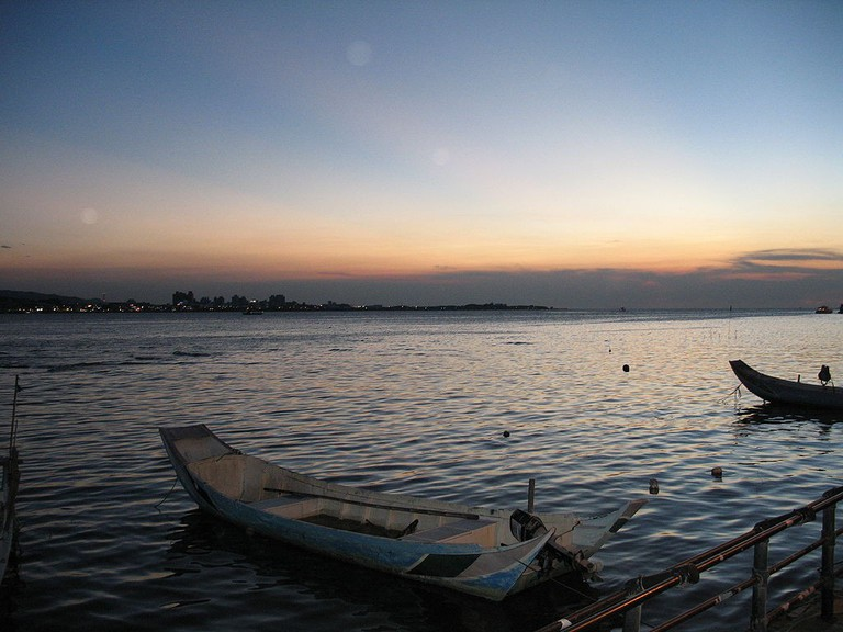 Danshui sunset   © Dmcdevit / Wikimedia