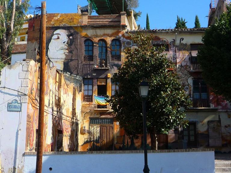 A square in the old Jewish quarter of Granada; Martin Haisch, flickr