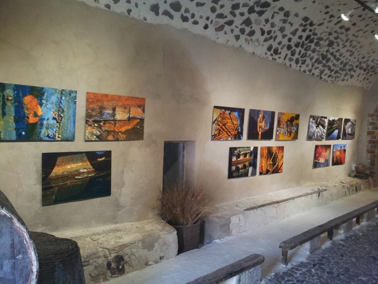 Dimitris Talianis' exhibition