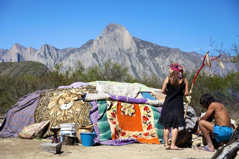 A temazcal ritual in Monterrey | © Steven Zwerink/Flickr