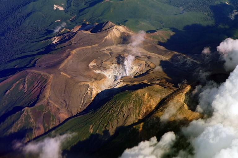 Mount Meakan in Hokkaido prefecture, Japan