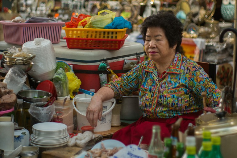 The queen of Seomun Market
