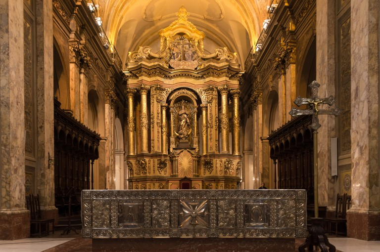 Interior of the Metropolitan Cathedral, Buenos Aires