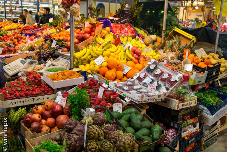 Fruits and Vegetables | © WinniePix/Flickr