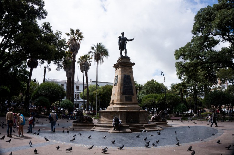 Sucre's main plaza | © jipe7/Flickr