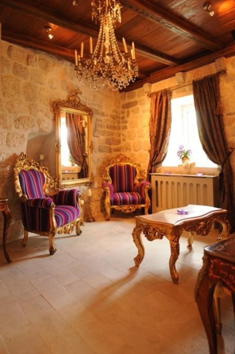Palazzo Radomiri lounge | @ Courtesy of hotel