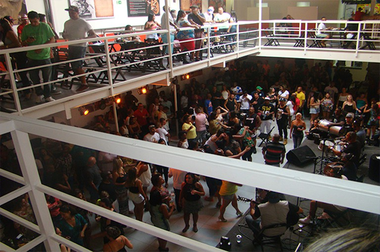 Samba music at Estacao Sao Jorge | Courtesy of Estacao Sao Jorge