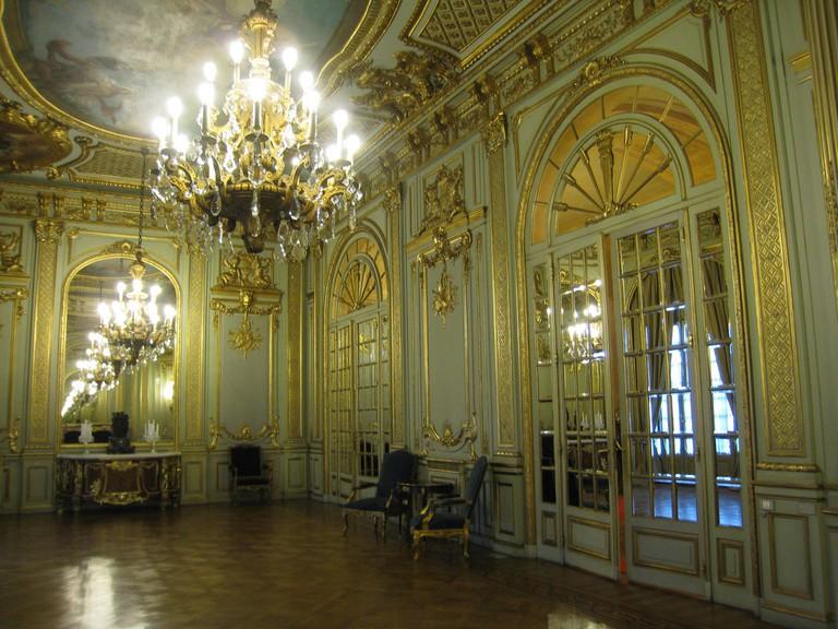 The grand interior of the Palacio San Martin, Buenos Aires