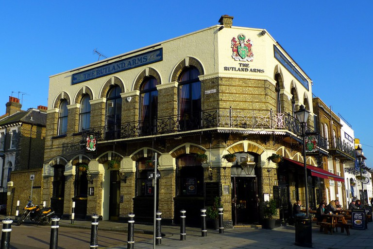 Stop in at The Rutland Arms