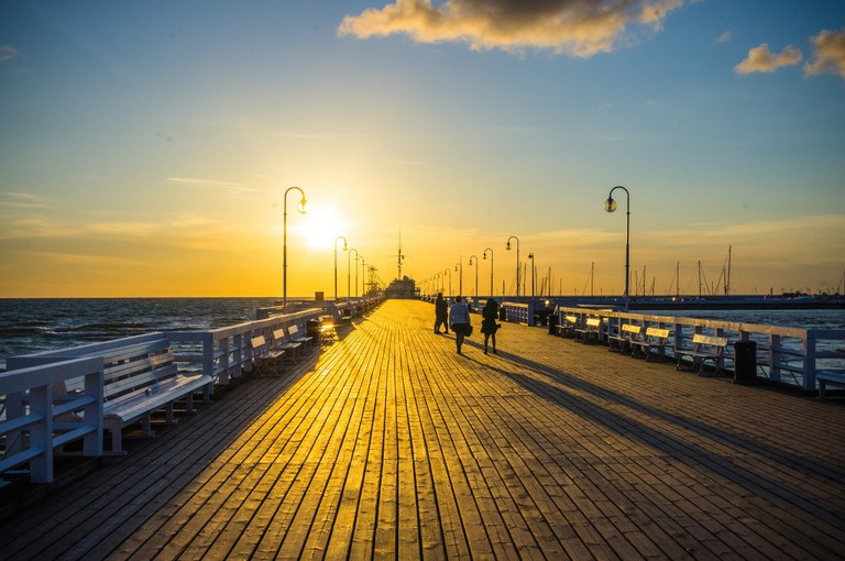The Wooden Pier at Sopot | © Kedziurt / Flickr