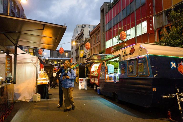 Cuba St Night Market