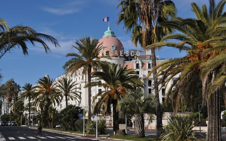 Le Negresco is one of the most famous and most loved of Nice's restaurants and great for food lovers