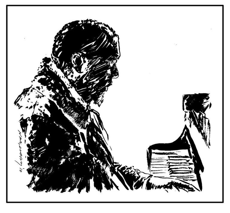 Portrait of jazz legend Thelonious Monk | © NCMallory/flickr