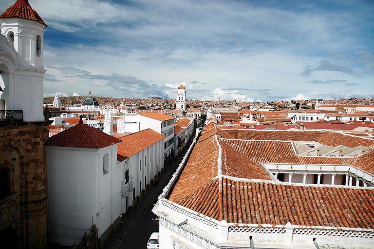 Rooftop view from San Felipe | © TomaB/Flickr
