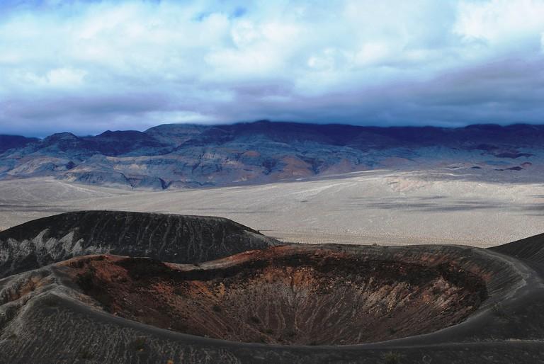 Little Ubehebe Crater | © David Stone/Flickr