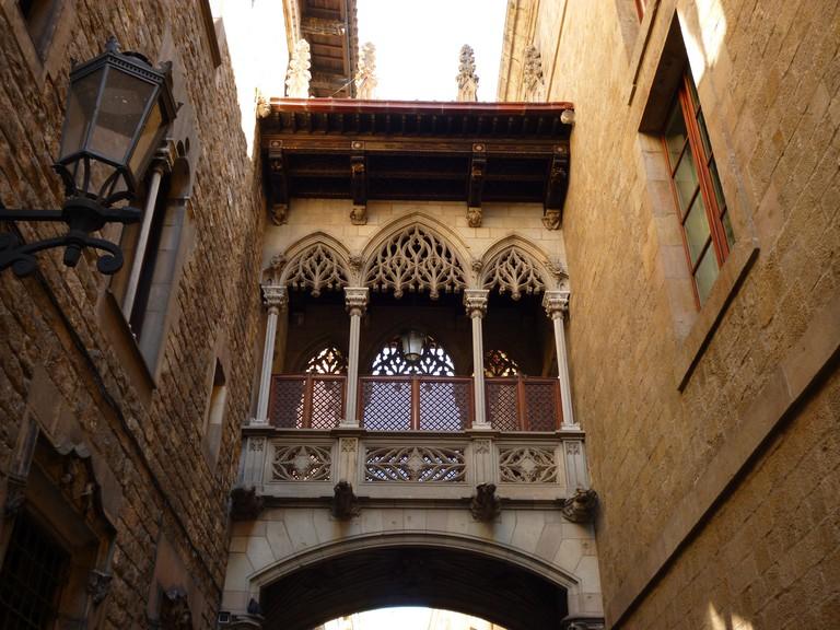 The Bisbe Bridge © Oh-Barcelona.com