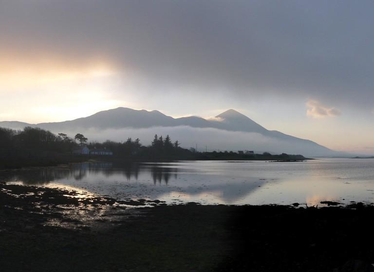 Croagh Patrick Panorama | © Mark Waters/Flickr