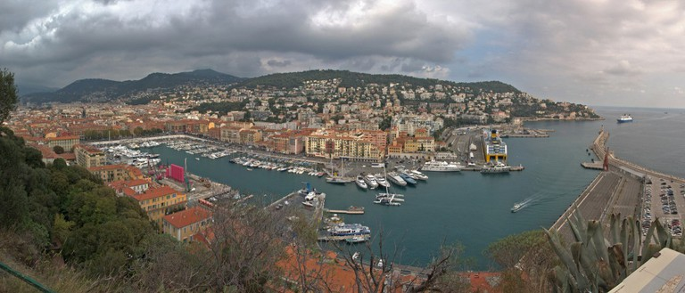 View over Nice's Old Port from Castle Hill | © Marc Meynadier/flickr
