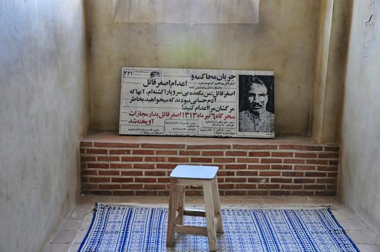 Symbolic prison cell at Qasr Prison | © Babak Farrokhi / Flickr