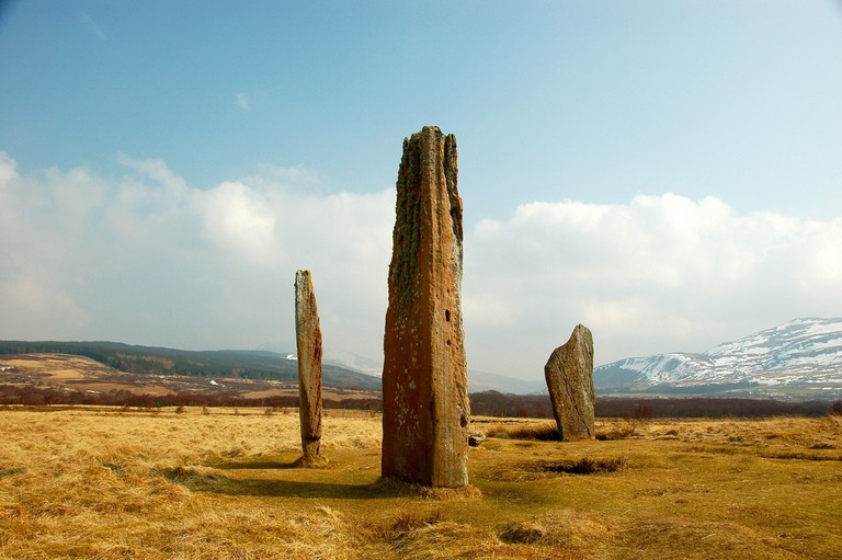 Standing Stones On Isle Of Arran | © John Mason/Flickr