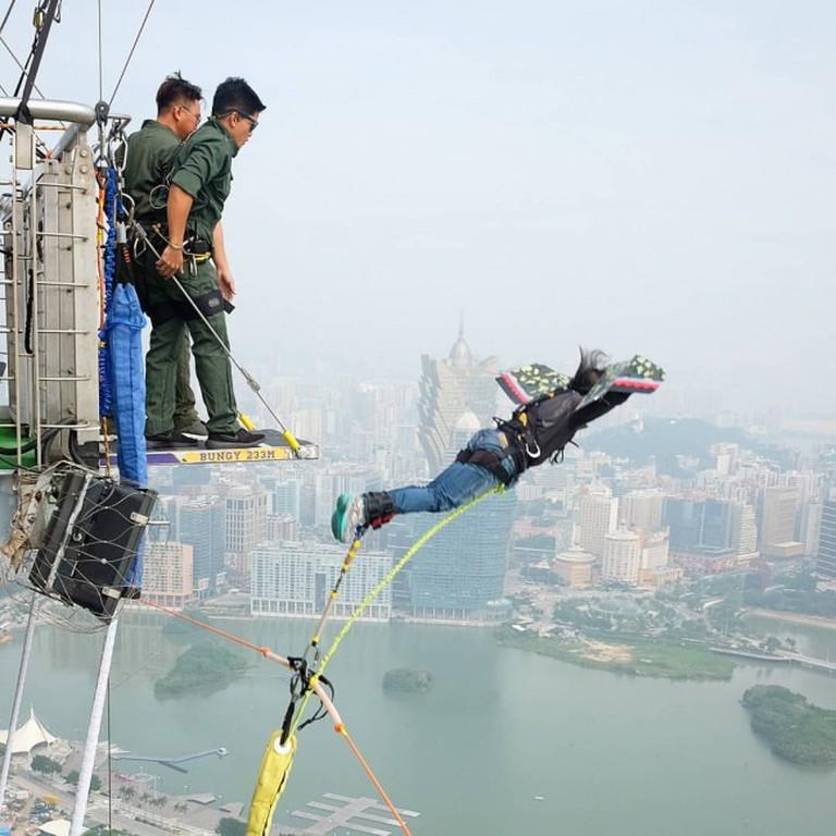 Courtesy of AJ Hackett Macau Tower