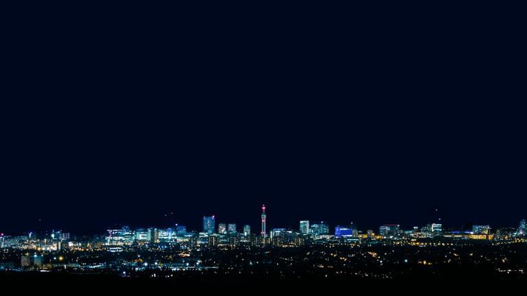 Birmingham skyline from Barr Beacon