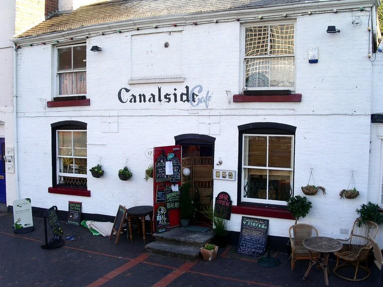 Canalside Cafe in Birmingham