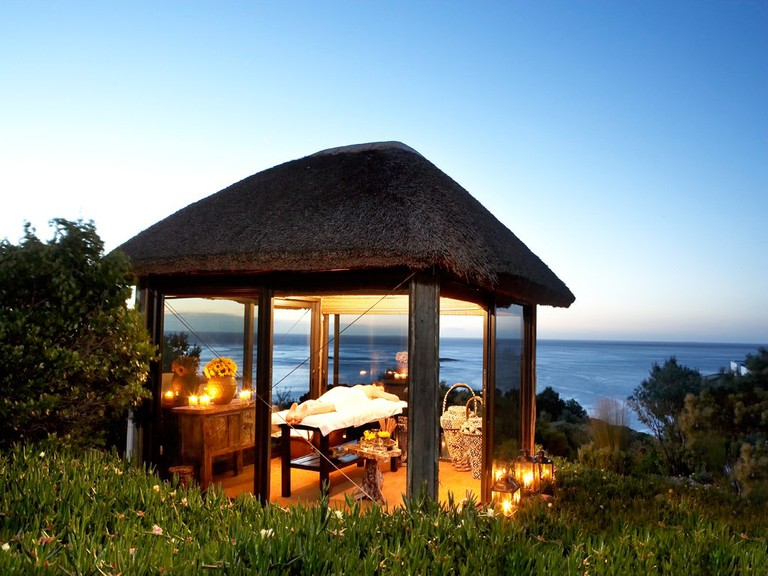 Relax with an outdoor massage at the Twelve Apostles