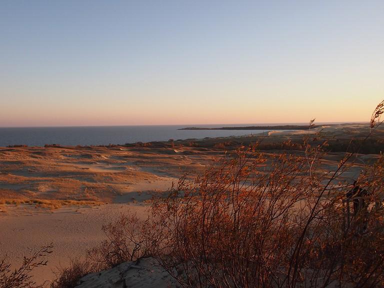 Dunes on the Curonian Spit ©Elizabeth Georgian