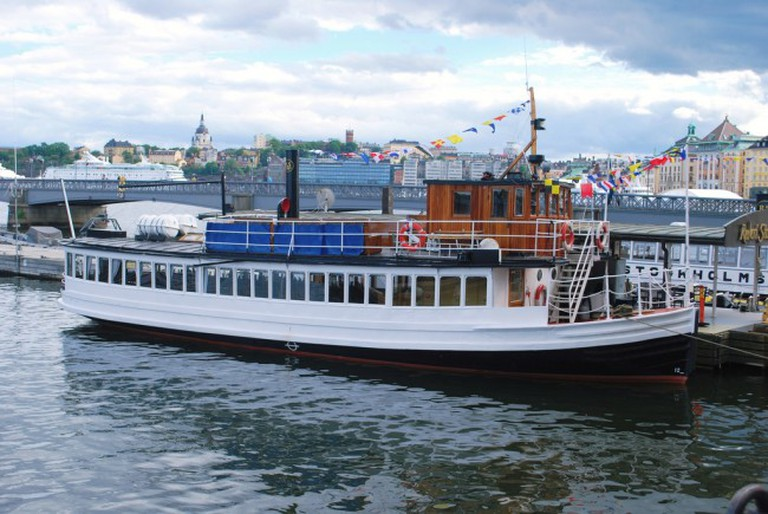 Stockholm steam ferry | ©Hugh Llewelyn/Flickr
