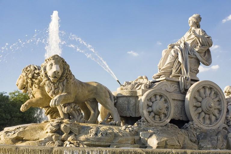 The famous Cibeles fountain and monument   © Madrid Destino Cultura Turismo y Negocio