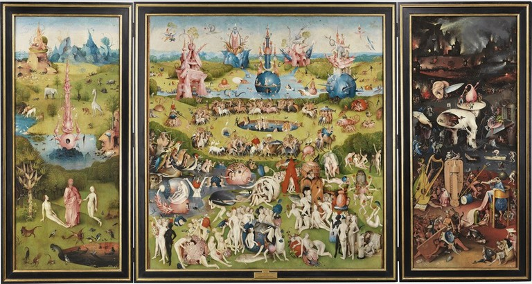 The Garden of Earthly Delights   © The Museo del Prado