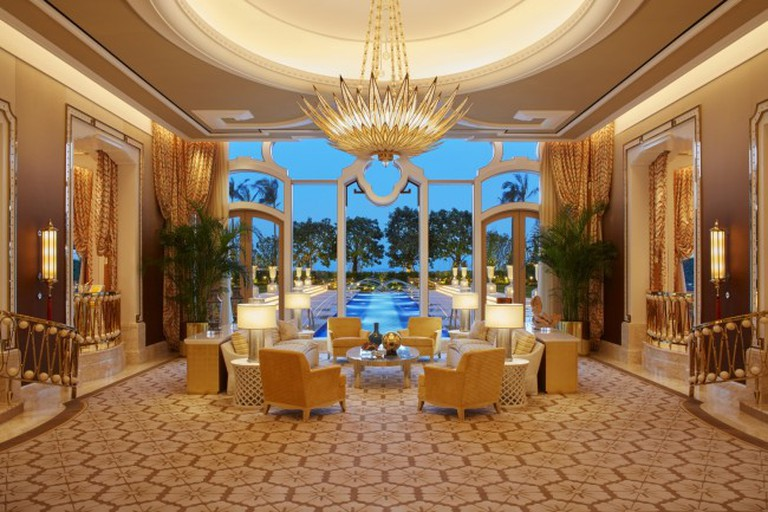 Garden villa living room at Wynn Palace | Courtesy of Wynn Resorts