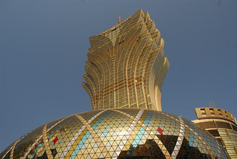 Grand Lisboa Macau   © Daniel Smith / Flickr