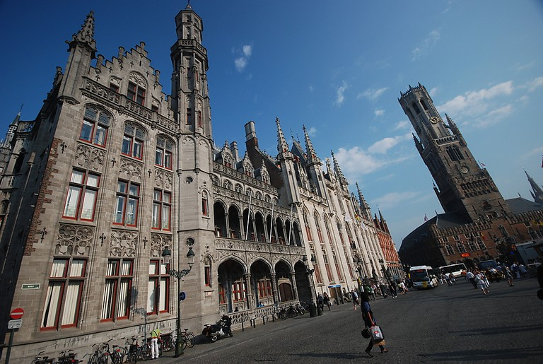 Bruges Historium to the front left | © Vasile Cotovanu / Flickr