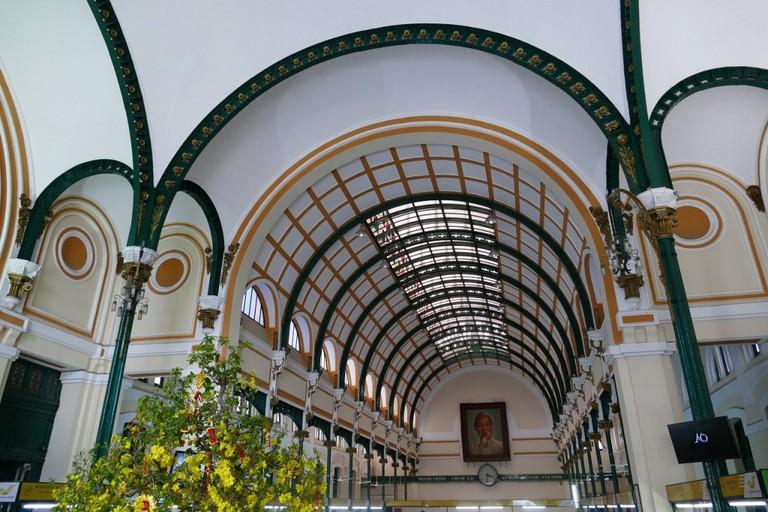 Inside Ho Chi Minh City's Central Post Office © Falco / Pixabay