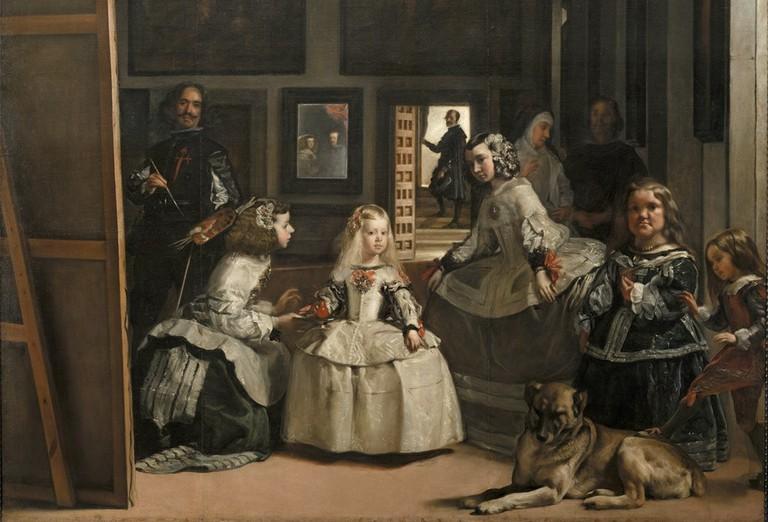 Las Meninas by Diego Velázquez   © Museo del Prado