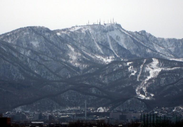 Mt. Teine in Sapporo | © Nikm/WikiCommons
