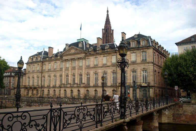 The stately Palais Rohan