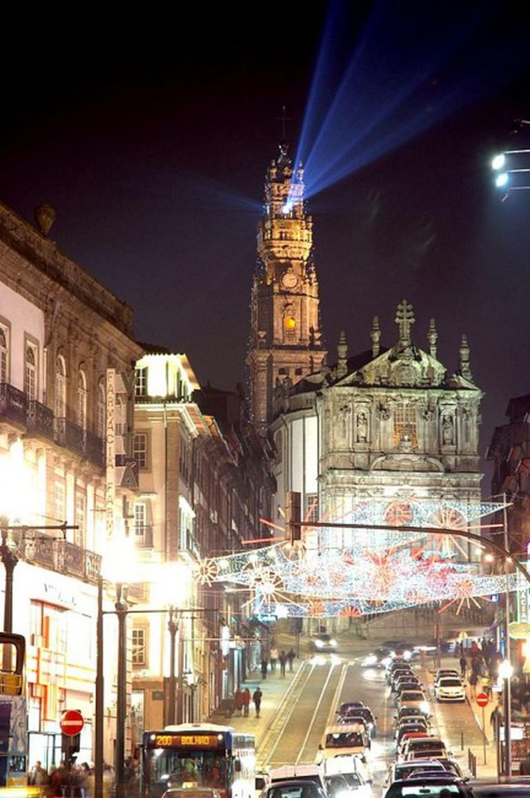 Clérigos Church and Tower © Josep Renalias / Wikipedia