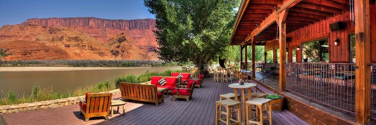 River Deck at Sorrel River Ranch and Spa